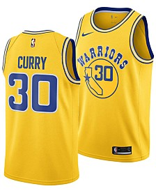 Nike Men's Stephen Curry Golden State Warriors Hardwood Classic Swingman Jersey