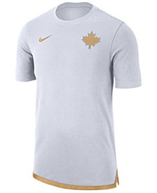 Nike Men's Toronto Raptors City Edition Shooting T-Shirt