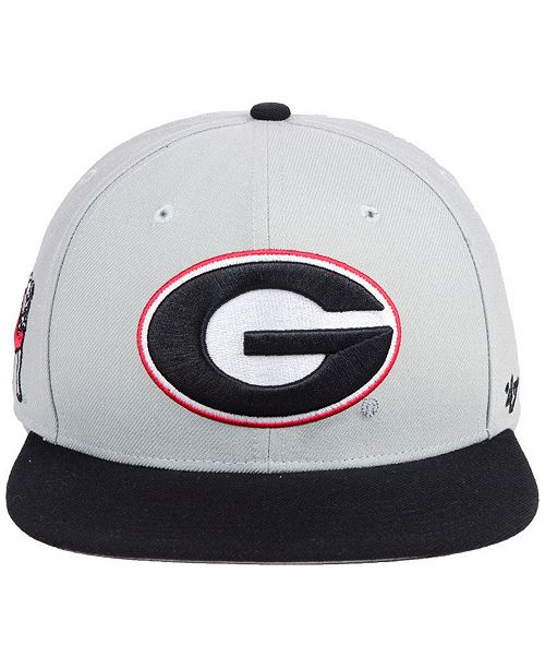47 Brand Georgia Bulldogs Sure Shot 2 Tone CAPTAIN Snapback Cap - Sports  Fan Shop By Lids - Men - Macy s 4229dc2752e