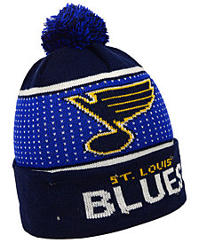 Forever Collectibles St. Louis Blues Big Logo Light Up Knit Hat