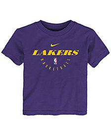 Nike Los Angeles Lakers Elite Practice T-Shirt, Toddler Boys (2T-4T)