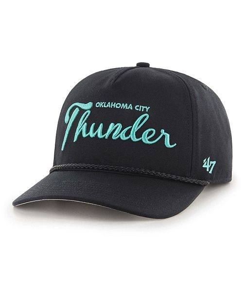reputable site befeb a6968 ...  47 Brand Oklahoma City Thunder Diamond Blue CAPTAIN Strapback Cap     ...