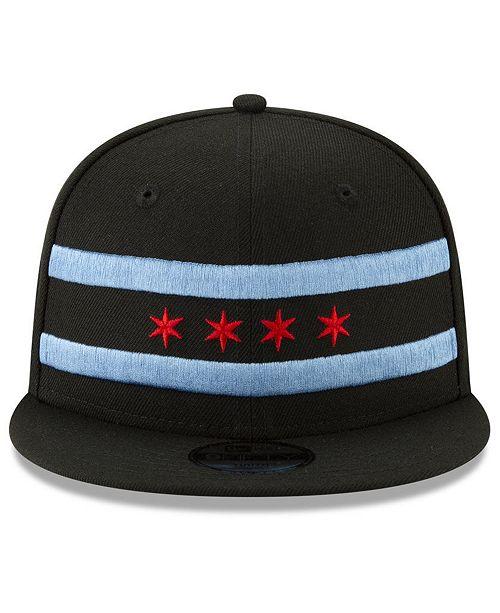 62425f1ac8b ... New Era Chicago Bulls City Series 2.0 9FIFTY Snapback Cap ...