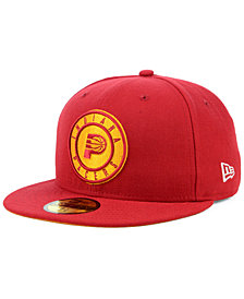 New Era Indiana Pacers Hardwood Classic Nights 59FIFTY Fitted Cap