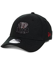 New Era Alabama Crimson Tide Black Pop Flex 39THIRTY Cap