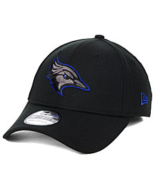 New Era Creighton Blue Jays Black Pop Flex 39THIRTY Cap