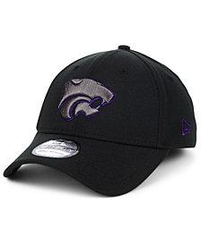 New Era Kansas State Wildcats NCAA Black Pop Flex 39THIRTY Cap