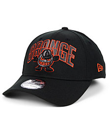 New Era Syracuse Orange Black Pop Flex 39THIRTY Cap
