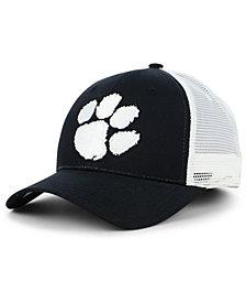 Zephyr Clemson Tigers Big Rig Mesh Snapback Cap