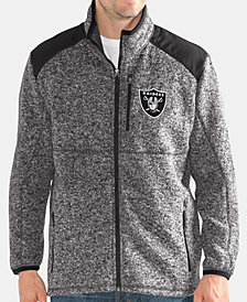 G-III Sports Men's Oakland Raiders Back Country Player Front Zip Jacket