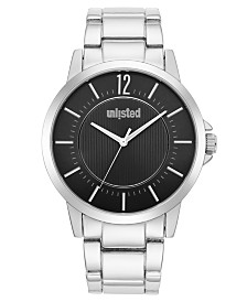 Unlisted Men's Silvertonetone Alloy Sport Watch, 44MM