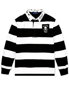 Polo Ralph Lauren Toddler Boys Striped Rugby Shirt