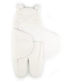 Tadpoles Super Soft Plush Sherpa Swaddle Wrap