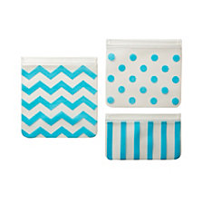 J.L. Childress See N Save Reusable Snack Bags Trio