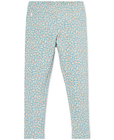 Polo Ralph Lauren Little Girls Floral-Print Leggings