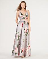 d27bfd1d8c744a Speechless Juniors  2-Pc. Floral Satin Crop Top   Skirt