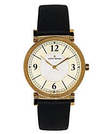 Lucky Brand Women's Carmel Navy Leather Watch 34mm