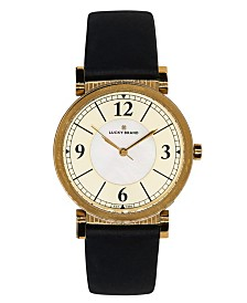 Lucky Brand Women's Carmel Navy Leather Watch 34mm