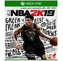Xbox 1 NBA 2K19