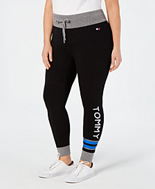 Tommy Hilfiger Sport Plus Size Logo Leggings