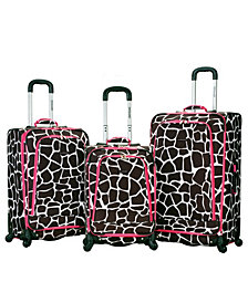Rockland Fusion 3-Piece Luggage Set