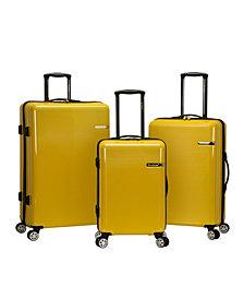 Rockland Horizon 3-Piece Polycarbonate Spinner Luggage Set