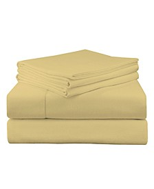 Luxury Weight Flannel Sheet Set Queen