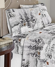 Luxury Weight Cotton Flannel Sheet Set Queen