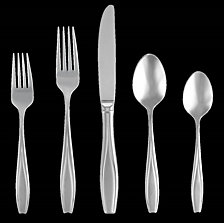 Gorham Tulip Frosted 20-PC Flatware Set