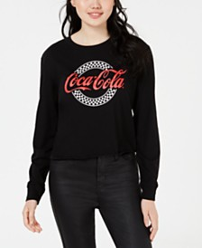 Love Tribe By Hybrid Juniors' Coca Cola Logo Graphic T-Shirt
