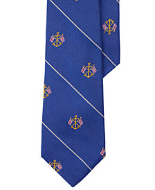 Polo Ralph Lauren Men's Anchor Silk Club Tie