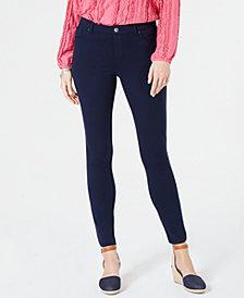 Style & Co Zippered-Hem Skinny Pants, Created for Macy's