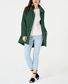 Mock-Neck Utility Jacket, Created for Macy's