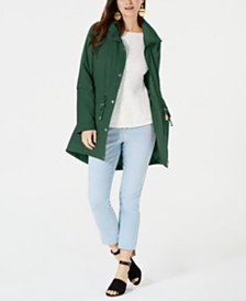 Style & Co Mock-Neck Utility Jacket, Created for Macy's