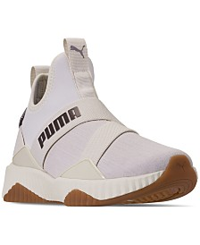 Puma Women's Defy Mid Luxe Casual Sneakers from Finish Line