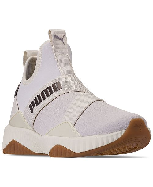b5d4929f7184 Puma Women s Defy Mid Luxe Casual Sneakers from Finish Line ...