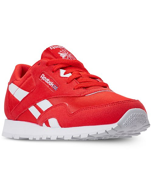 Reebok. Boys  Classic Nylon MU Casual Sneakers from Finish Line. Be the  first to Write a Review.  55.00 4c3c8beda