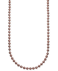 "Charter Club Gold-Tone Colored Imitation Pearl Strand Necklace, 42"" + 2"" extender, Created for Macy's"