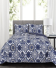 Marvel 3-Pc Set Full/Queen Quilt Set