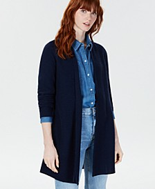 Pure Cashmere Pointelle-Stitch Cardigan, Created for Macy's