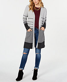 Lucky Brand Women's Striped Duster