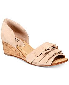 Lucca Lane Saddie Wedge Sandals