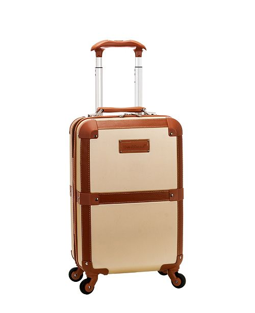 "Rockland Stage Coach 20"" Hardside Carry-On Spinner"