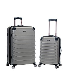 """Rockland Speciale 20"""", 28"""" 2-Piece Expandable ABS Spinner Set"""