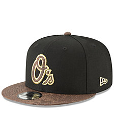 New Era Baltimore Orioles Gold Snake 9FIFTY Snapback Cap