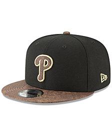 New Era Philadelphia Phillies Gold Snake 9FIFTY Snapback Cap