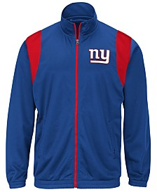 G-III Sports Men's New York Giants Clutch Time Track Jacket