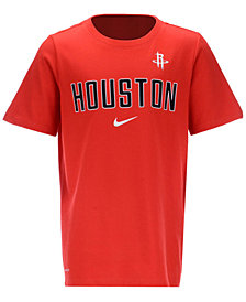 Nike Houston Rockets Facility T-Shirt, Big Boys (8-20)