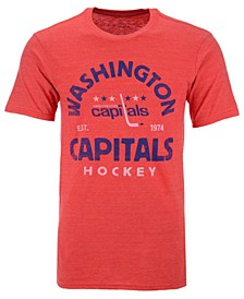 Men's Washington Capitals Vintage Arch Tri-Blend T-Shirt