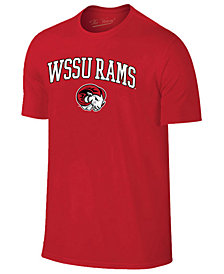 Retro Brand Men's Winston-Salem State Rams Midsize T-Shirt